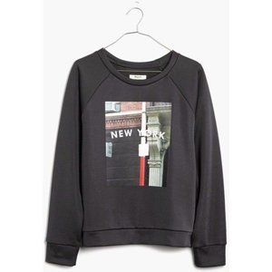Madewell Sweaters - Madewell New York Snapshot Pullover Sweater M